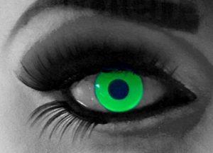 Glow green lenzen