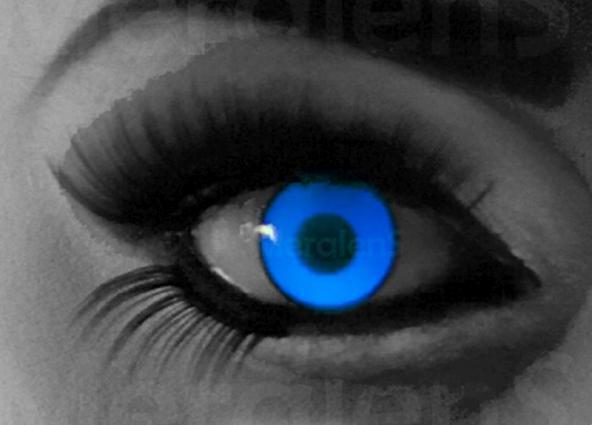 UV Blue lenzen