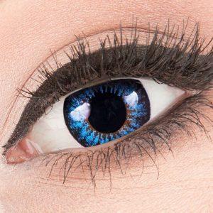 Big Eyes Cool Blue Lenzen