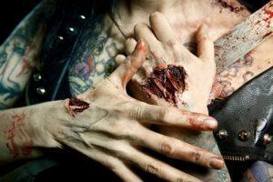 zombie handen