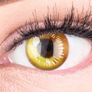 farbige-anime-cosplay-kontaktlinsen-anime-yellow